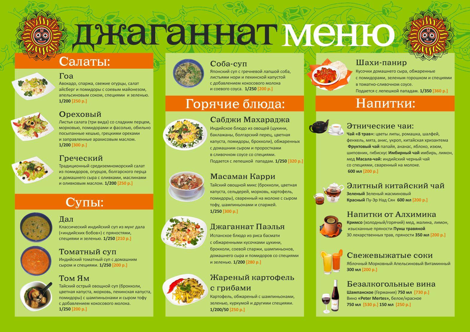 Здоровое питание меню неделю похудеть